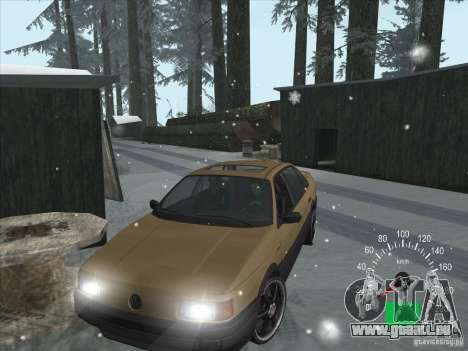 Volkswagen Passat B3 pour GTA San Andreas laissé vue