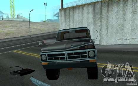 Ford F150 Ute 1976 pour GTA San Andreas vue arrière