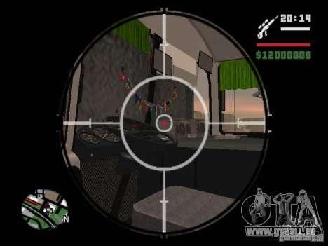 Paz-32054 für GTA San Andreas Unteransicht