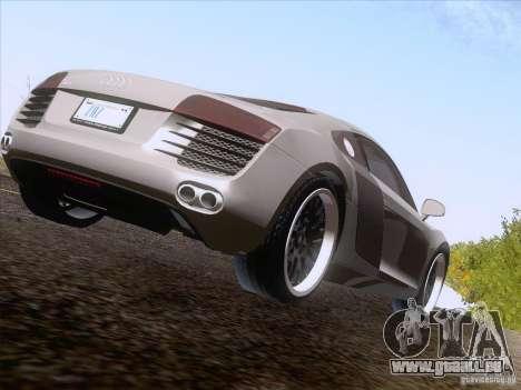 Audi R8 Hamann für GTA San Andreas linke Ansicht