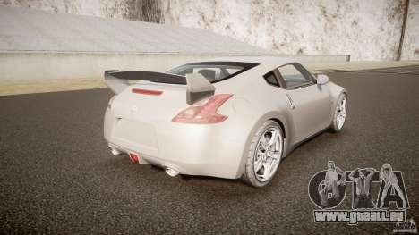 Nissan 370Z pour GTA 4 est un côté