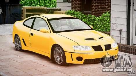 Pontiac GTO 2004 pour GTA 4 est un droit