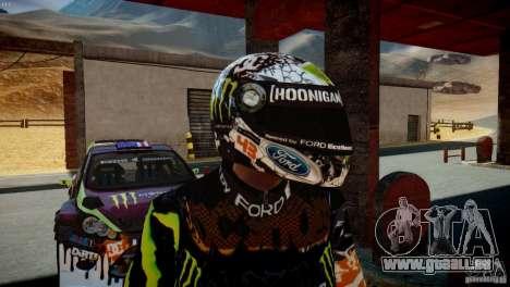 Ken Block Gymkhana 5 Clothes (Unofficial DC) für GTA 4 sechsten Screenshot