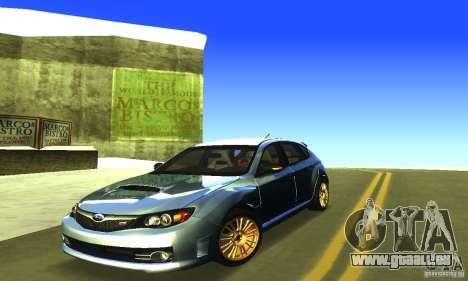 Subaru Impresa WRX STI 2008 pour GTA San Andreas