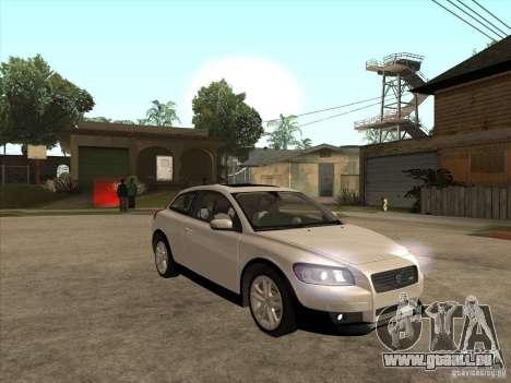 Volvo C30 für GTA San Andreas Innenansicht