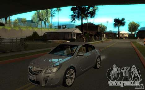 Opel Insignia 2011 für GTA San Andreas