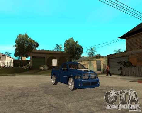 Dodge RAM SRT-10 pour GTA San Andreas vue de droite