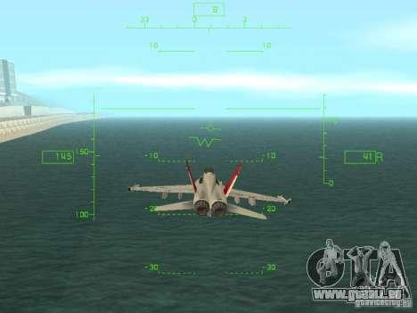 Luftfahrt HUD für GTA San Andreas zweiten Screenshot
