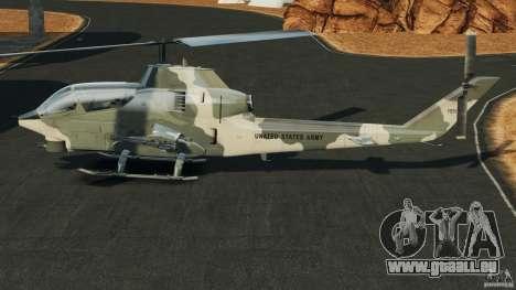 Bell AH-1 Cobra für GTA 4 linke Ansicht