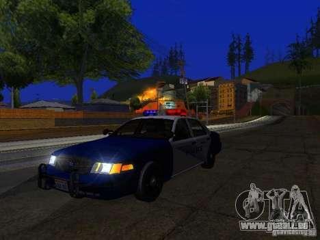 Ford Crown Victoria Belling State Washington für GTA San Andreas Seitenansicht