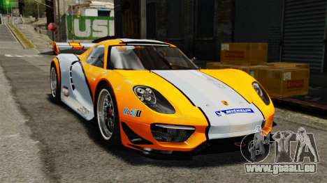 Porsche 918 RSR Concept pour GTA 4