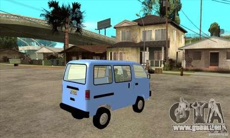 Suzuki Carry 1993 pour GTA San Andreas vue de droite
