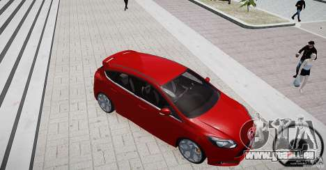 Ford Focus ST 2012 pour GTA 4 est une vue de l'intérieur