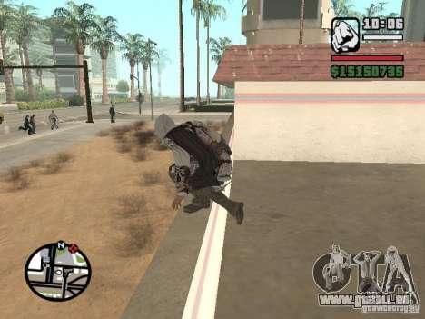Die Fähigkeit von Assassins Creed für GTA San Andreas dritten Screenshot