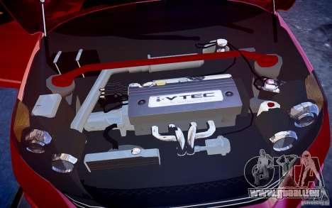Honda CR-V Light Tuning pour GTA 4 vue de dessus