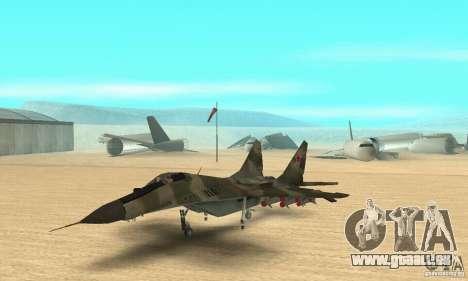 MIG-29 für GTA San Andreas