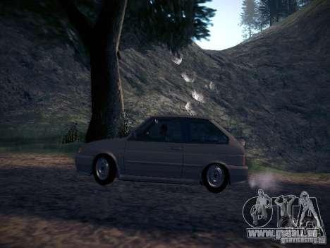 Drain de Vaz 2113 pour GTA San Andreas laissé vue