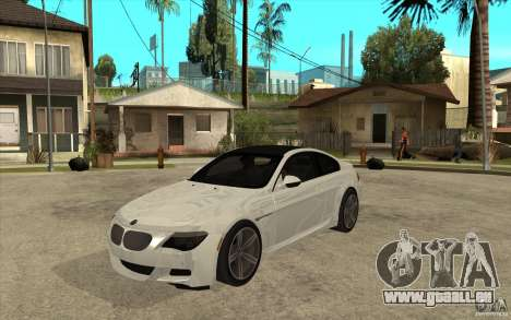 BMW M6 Coupe V 2010 pour GTA San Andreas