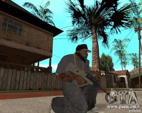 AUG HBAR mit mit einem Auge für GTA San Andreas zweiten Screenshot