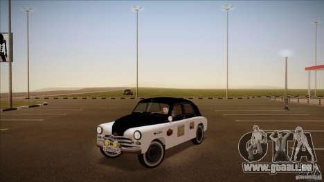 GAZ m-72 für GTA San Andreas