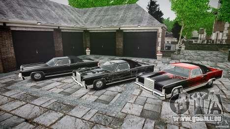Lincoln Continental Town Coupe v1.0 1979 pour GTA 4 est une vue de dessous