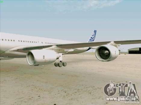 Airbus A-340-600 pour GTA San Andreas vue intérieure