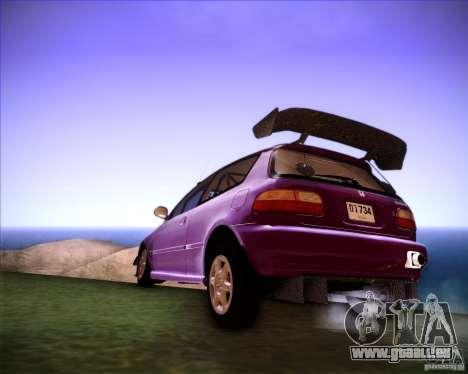 Honda Civic 1994 für GTA San Andreas linke Ansicht