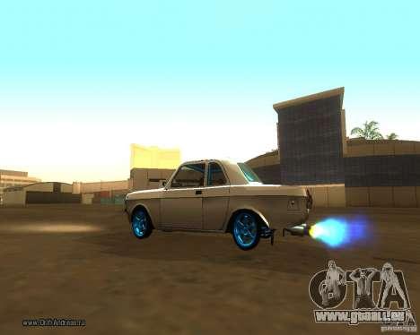 Gaz Volga 2410 Drift Edition pour GTA San Andreas vue de côté