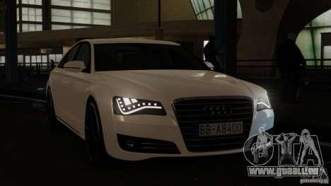 Audi A8 (D4, Typ 4H) 2010 Alpha für GTA 4 rechte Ansicht
