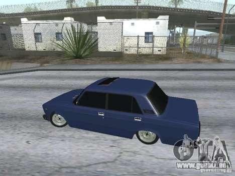 VAZ 2107 v2 pour GTA San Andreas vue de droite