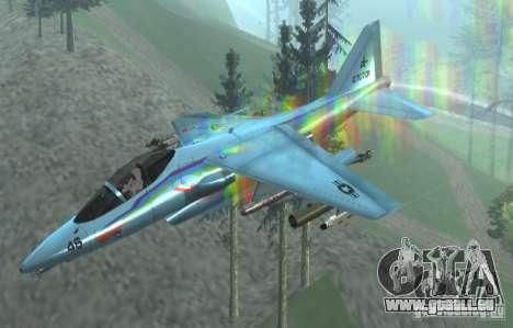 RainbowDash Hydra für GTA San Andreas rechten Ansicht
