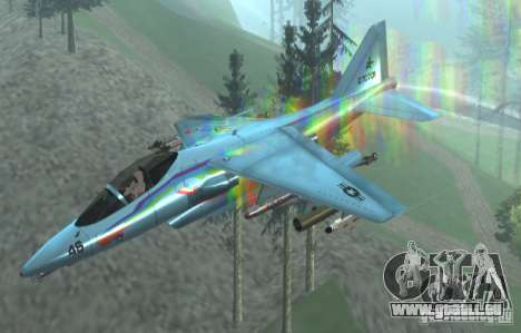 RainbowDash Hydra pour GTA San Andreas vue de droite