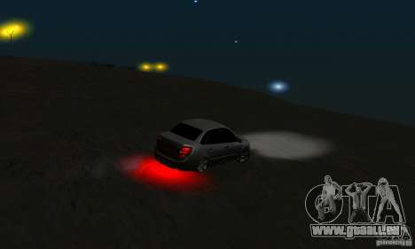 Lada Granta Light Tuning pour GTA San Andreas vue de côté