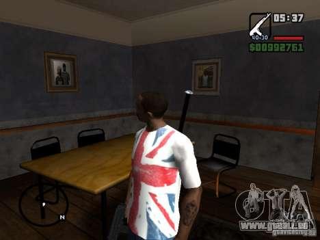 Der Spieler sieht, wo Sie sehen für GTA San Andreas zweiten Screenshot