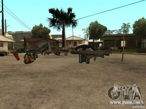 Armes pour GTA San Andreas