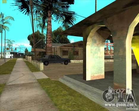 Car in Grove Street für GTA San Andreas fünften Screenshot