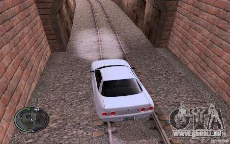 Rails russes pour GTA San Andreas quatrième écran
