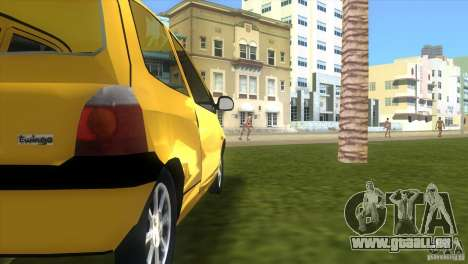 Renault Twingo pour une vue GTA Vice City de la droite