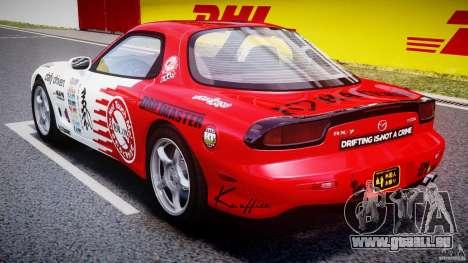 Mazda RX-7 1997 v1.0 [EPM] pour GTA 4 est un côté