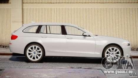 BMW M5 F11 Touring für GTA 4 Innenansicht