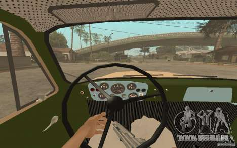 GAZ-52 für GTA San Andreas Innen