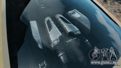 Audi R8 V10 2010 für GTA 4 Seitenansicht