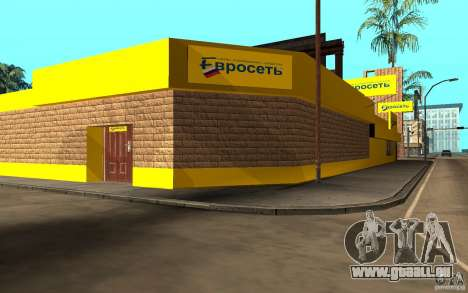 Die Store-Euroset für GTA San Andreas dritten Screenshot