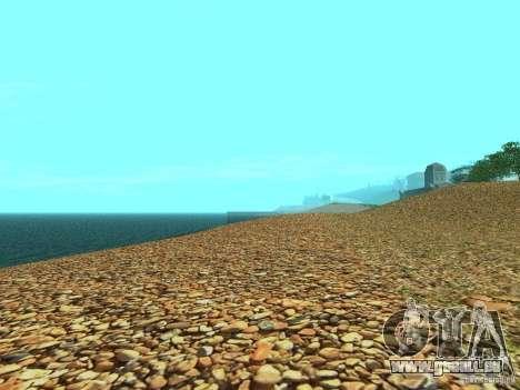 HQ Strände v2. 0 für GTA San Andreas fünften Screenshot