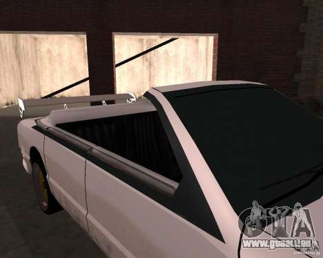Taxi Cabriolet pour GTA San Andreas vue intérieure