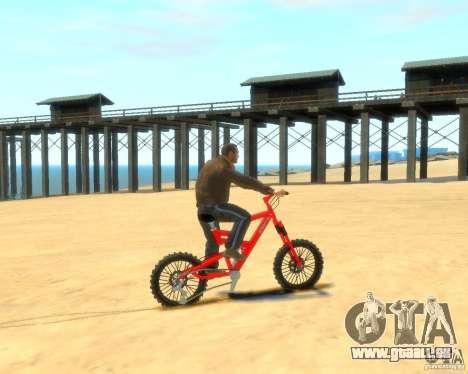 Mountain bike für GTA 4 linke Ansicht