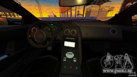 Lamborghini Murcielago LP670-4 SV [EPM] pour GTA 4 Vue arrière