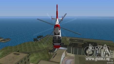 Eurocopter As-365N Dauphin II pour GTA Vice City vue latérale