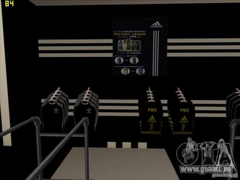 Remplacement complet du magasin Binco Adidas pour GTA San Andreas septième écran