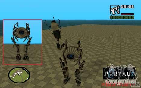 Robot de Portal 2 # 1 pour GTA San Andreas